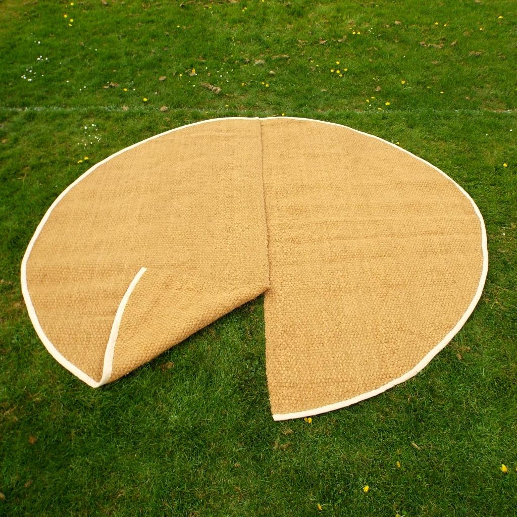 Bell Tent matting & Half Moon Mats - Bell Tent Mats - Yurt Mats| Coir Store