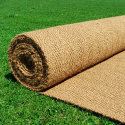 Coir matting length by the roll